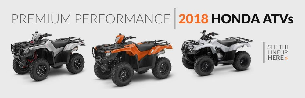 medium resolution of 2018 honda atvs