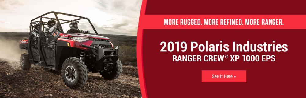 medium resolution of 2019 polaris industries ranger crew xp 1000 eps click here to view the model