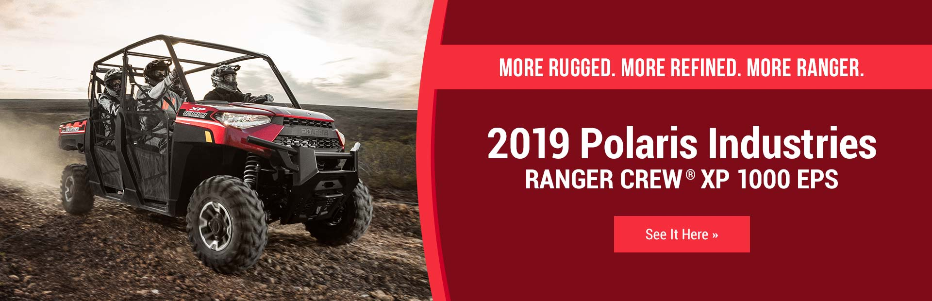 hight resolution of 2019 polaris industries ranger crew xp 1000 eps click here to view the model