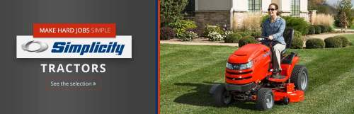 small resolution of click here to view our selection of simplicity tractors
