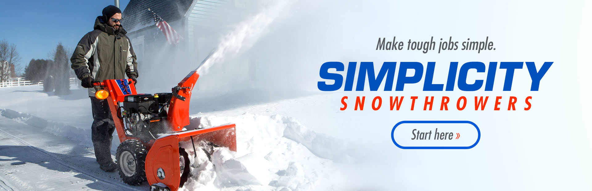 hight resolution of simplicity snowthrowers