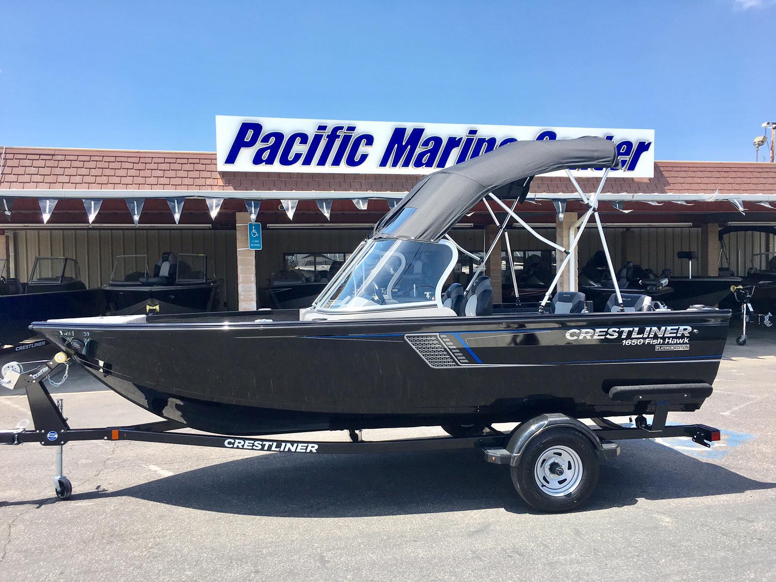 hight resolution of 2018 crestliner 1650 fish hawk wt mercury 60hp for sale in madera ca