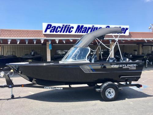 small resolution of 2018 crestliner 1650 fish hawk wt mercury 60hp for sale in madera ca