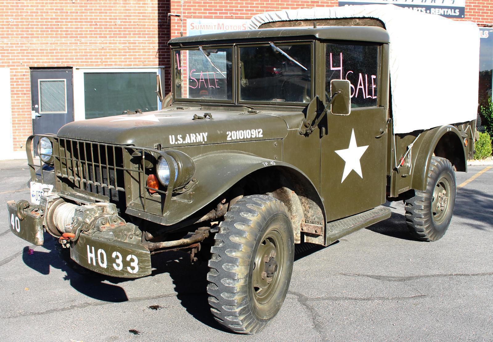 hight resolution of 1953 dodge m37 for sale in spanish fork ut summit motorsports rh summitmotorsportsllc com dodge m37 wiring harness for sale car wiring harness