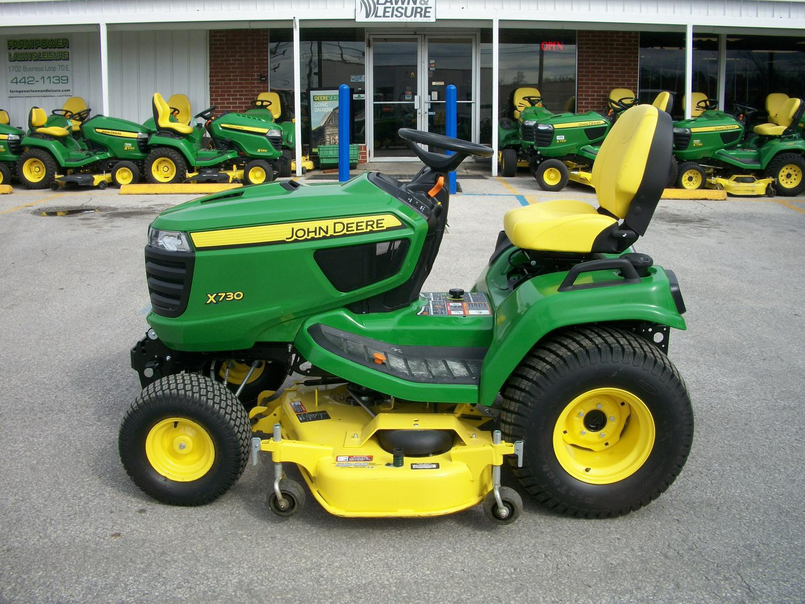 hight resolution of  175 and 185 on 2017 john deere x730 for sale in columbia mo farm power lawn