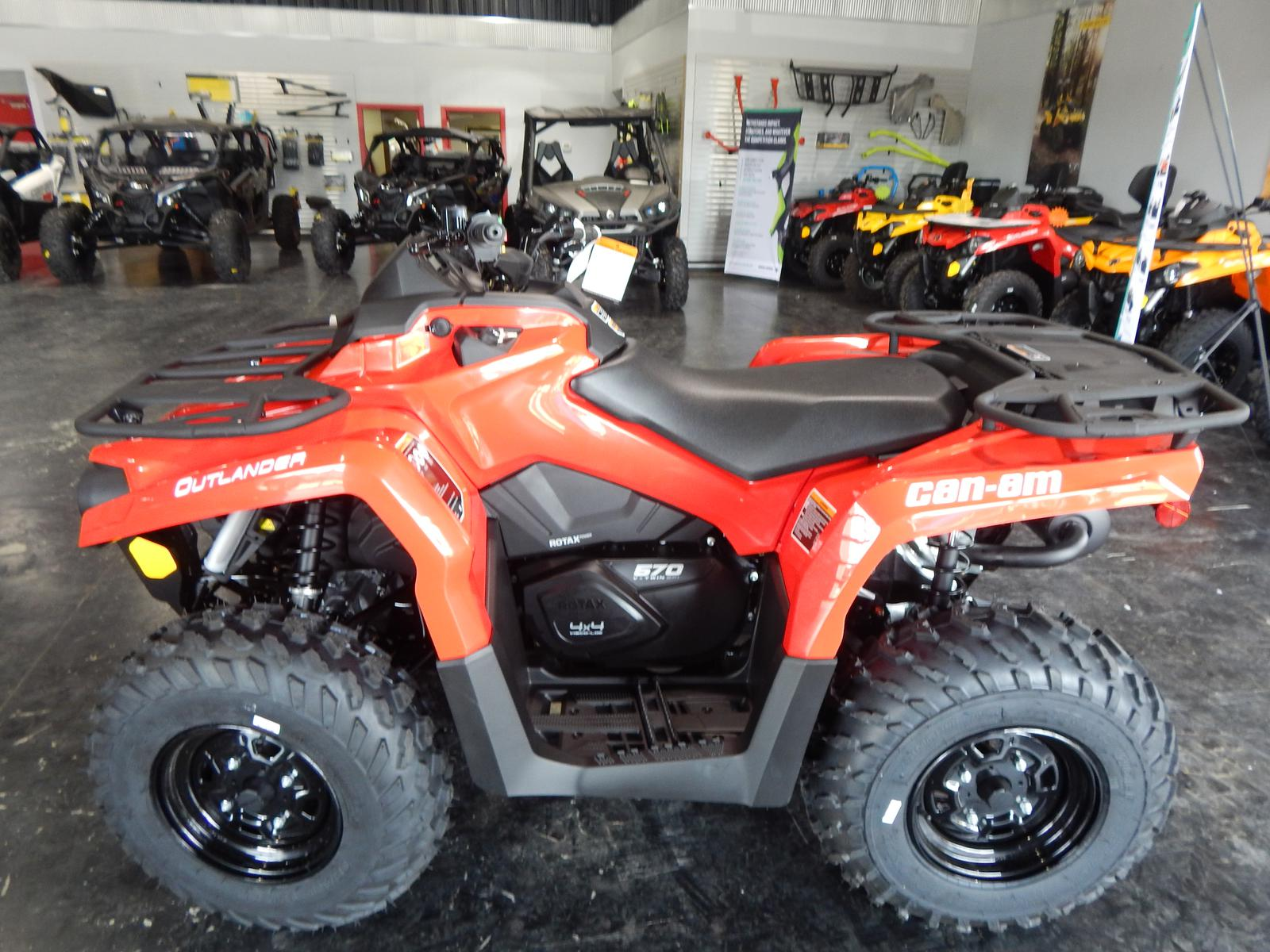 medium resolution of 2018 can am outlander 570 for sale in morehead ky cave run motorsports