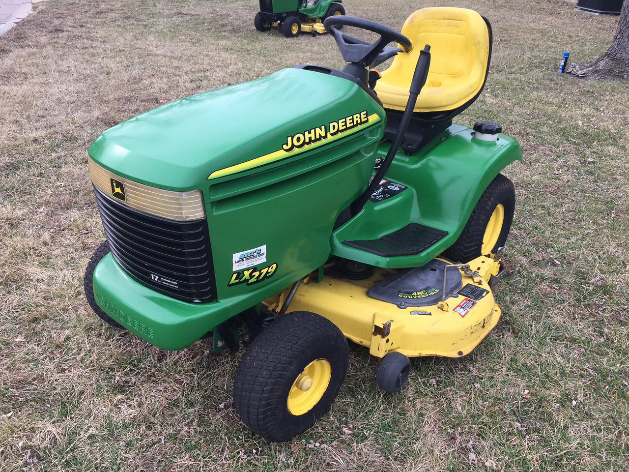 hight resolution of 2001 john deere lx279 for sale in florissant mo art u0027s lawn mower lx279