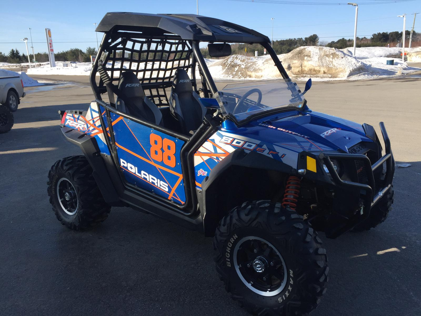 hight resolution of 2013 polaris industries rzr 800 eps blue fire le for sale in newport vt atvparts com 802 487 1000