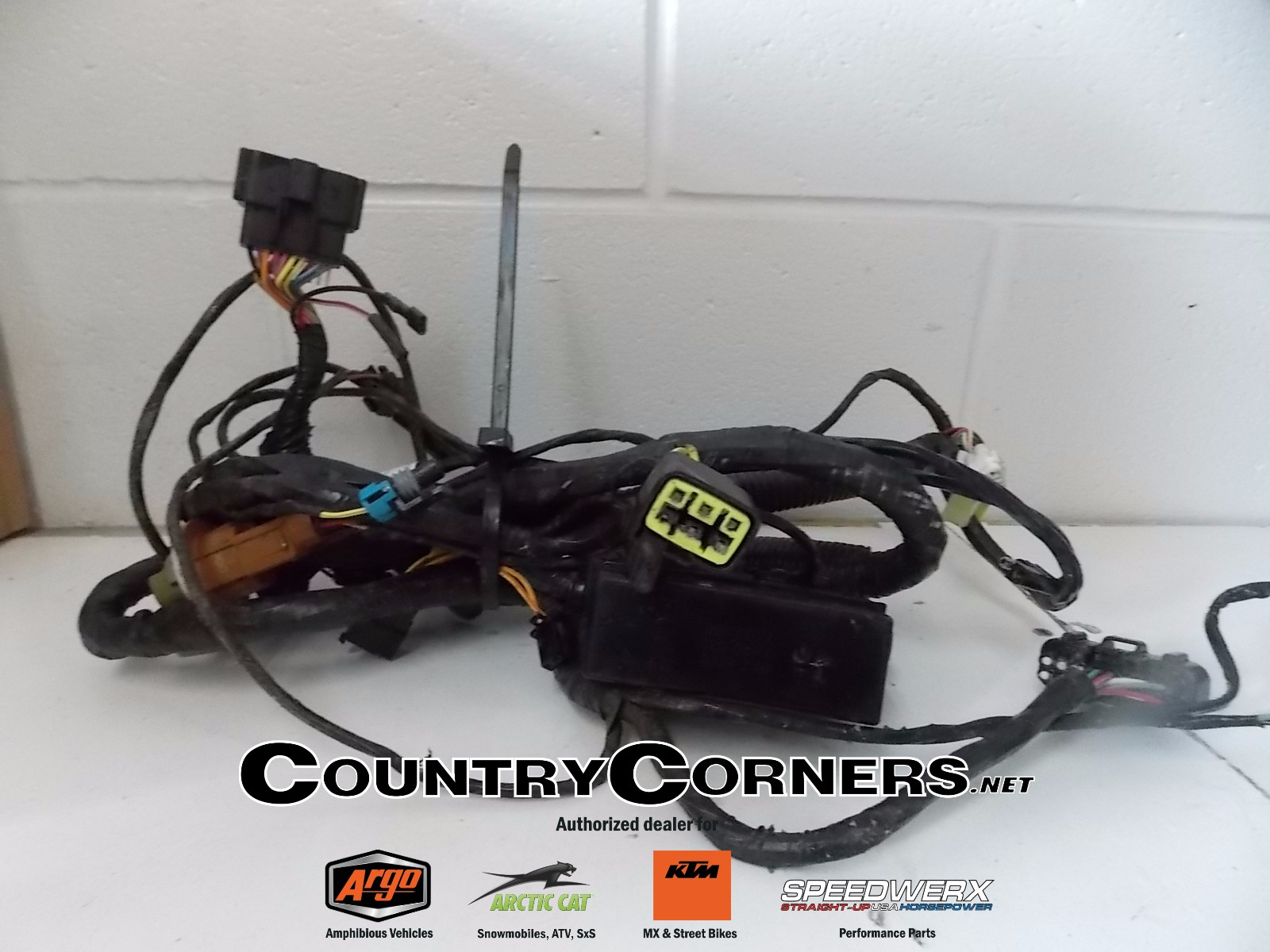 hight resolution of used arctic cat 650 h1 wiring harness 0486 345 country corners