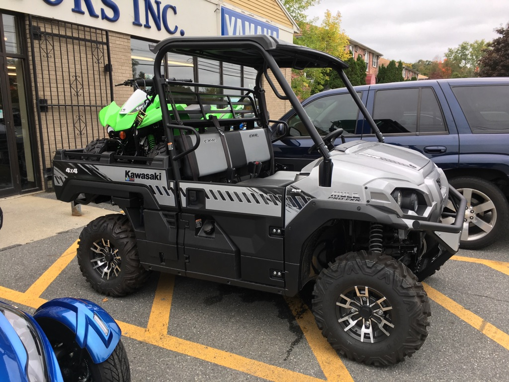 hight resolution of 2018 kawasaki mule pro fxr eps for sale in north chelmsford ma route 3a motors inc 978 251 4440