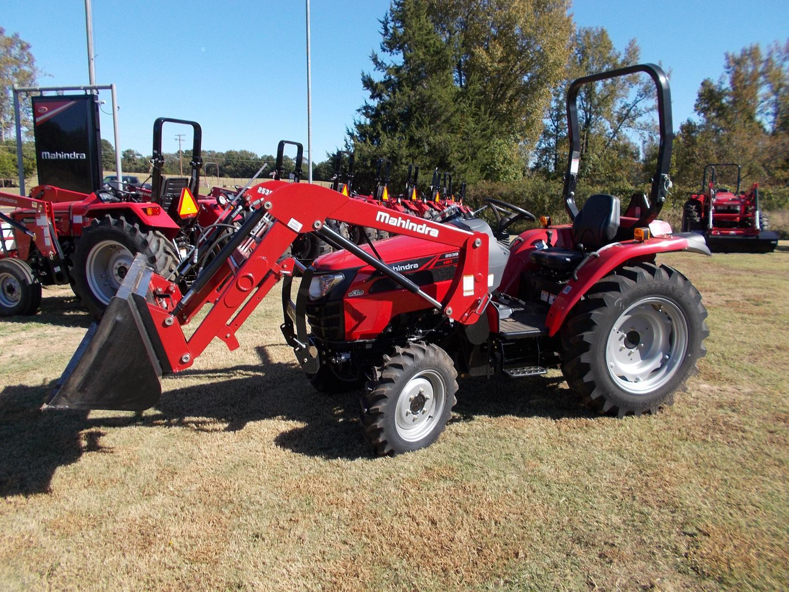 2538 4wd Hst Mahindra Tractors - Year of Clean Water