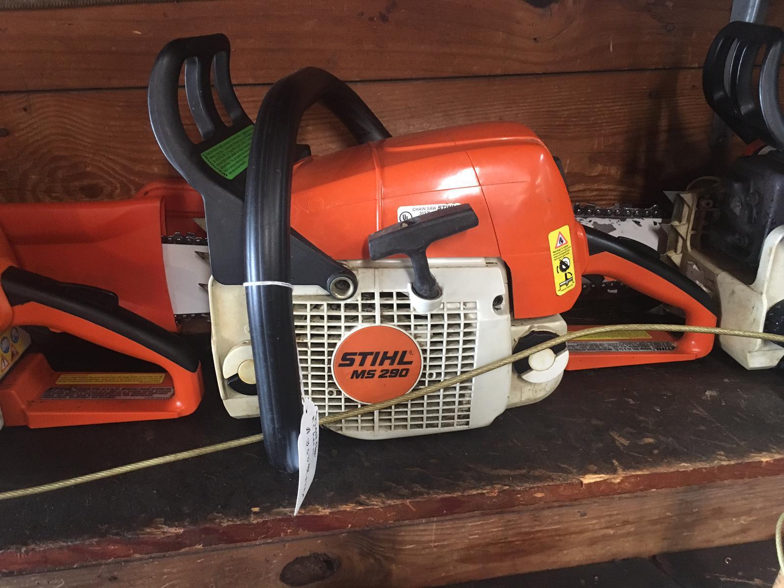 medium resolution of 2010 stihl ms 290 farm boss chain saw for sale in lynn in polley farm service inc 765 874 2291