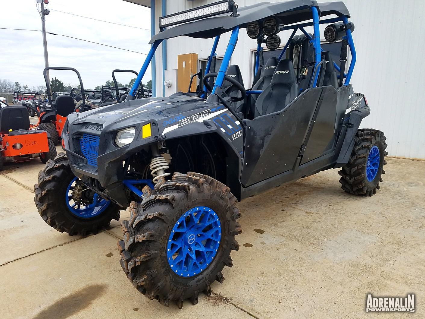 hight resolution of 2014 rzr 4 800 eps stealth black le polaris industries 2014