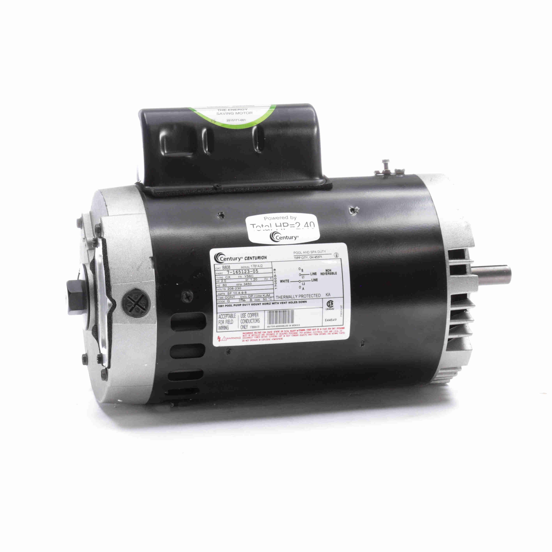 Pool Motor Capacitor Wiring
