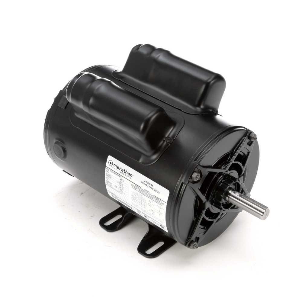 medium resolution of  capacitor wiring air marathon motors 5kcr48tn2650y 9035 regal beloit on air cooling diagram air conditioner