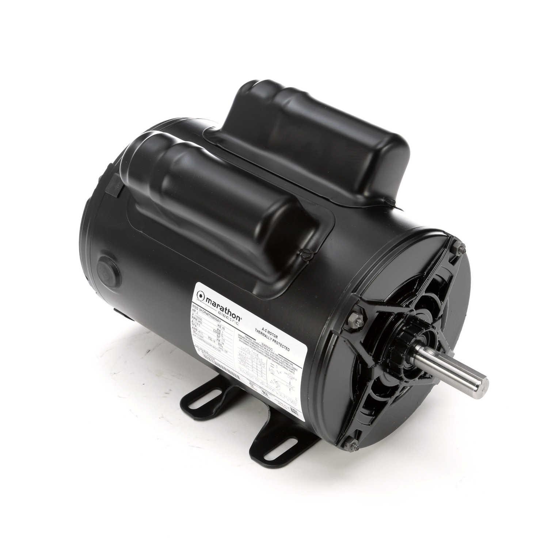 hight resolution of  capacitor wiring air marathon motors 5kcr48tn2650y 9035 regal beloit on air cooling diagram air conditioner