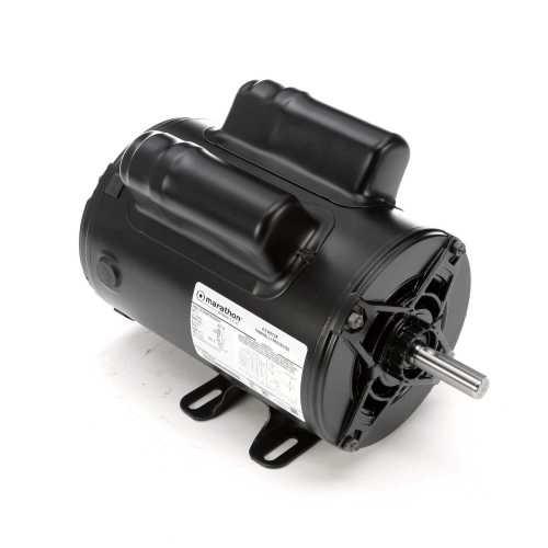 small resolution of  capacitor wiring air marathon motors 5kcr48tn2650y 9035 regal beloit on air cooling diagram air conditioner