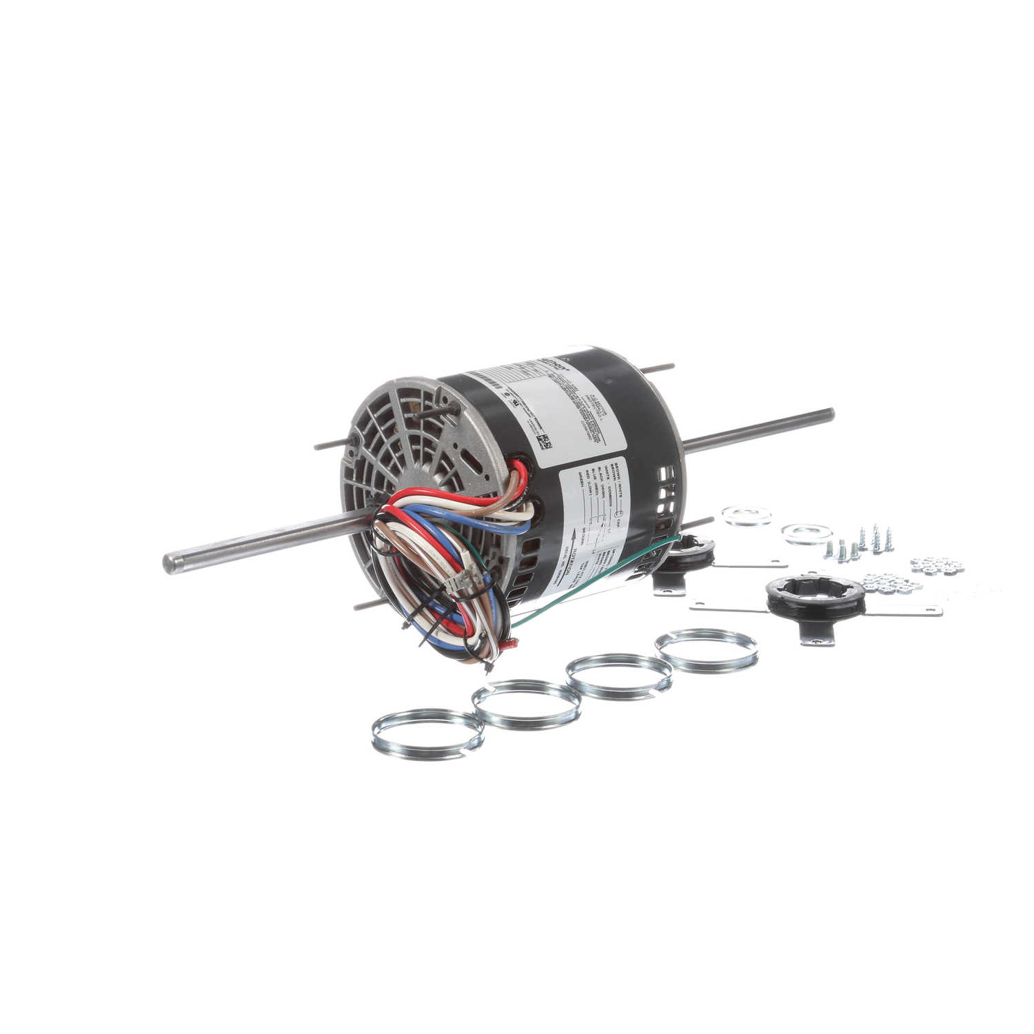 0.50 HP 3 speed Fan and Blower HVAC/R Motor, 1 phase, 1200