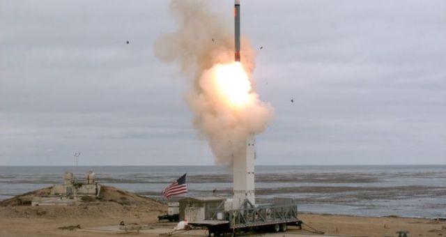 La prueba del misil crucero