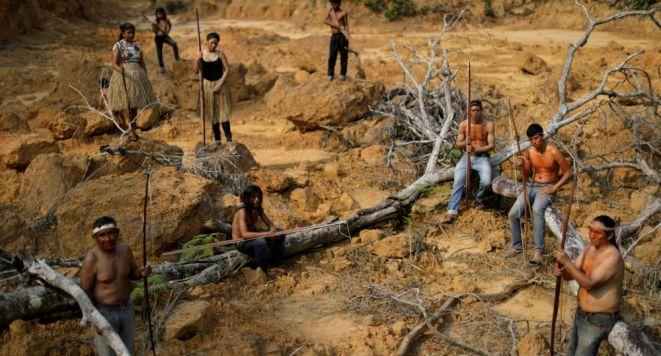 Resultado de imagen para incendios amazonía indígenas brasil