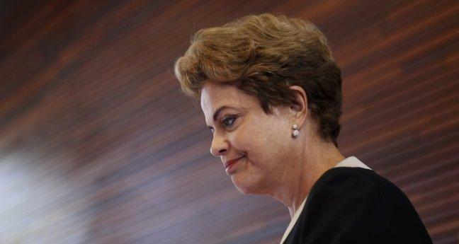 Dilma Rousseff, presidenta de Brasil, en California, EEUU, el 2 de julio, 2015