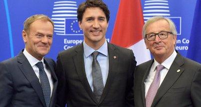 Resultado de imagen de Acuerdo Económico y Comercial Global entre la Unión Europea y Canadá