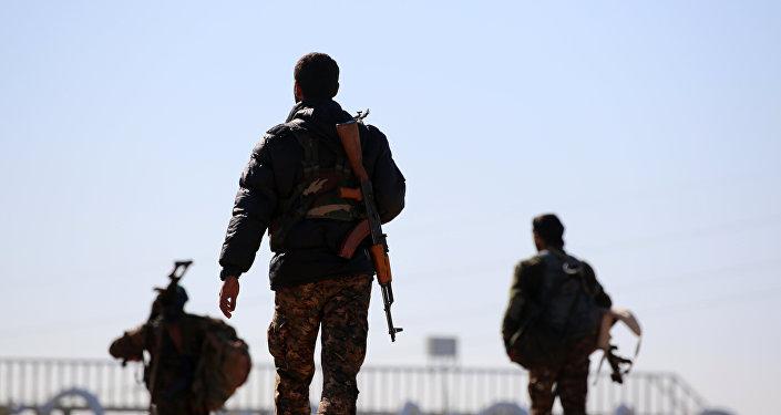 Fuerzas Democráticas sirias en Al Raqa
