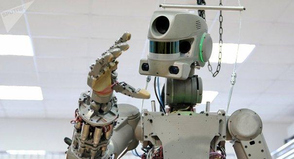 El robot antropomórfico ruso FEDOR (Archivo)