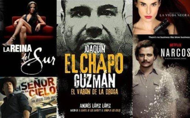 Promoción de la narcocultura en el cine (imagen referencial)