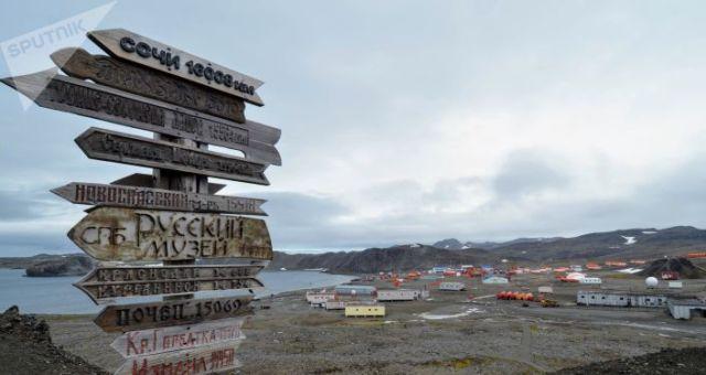 Estación antártica rusa de Bellingshausen