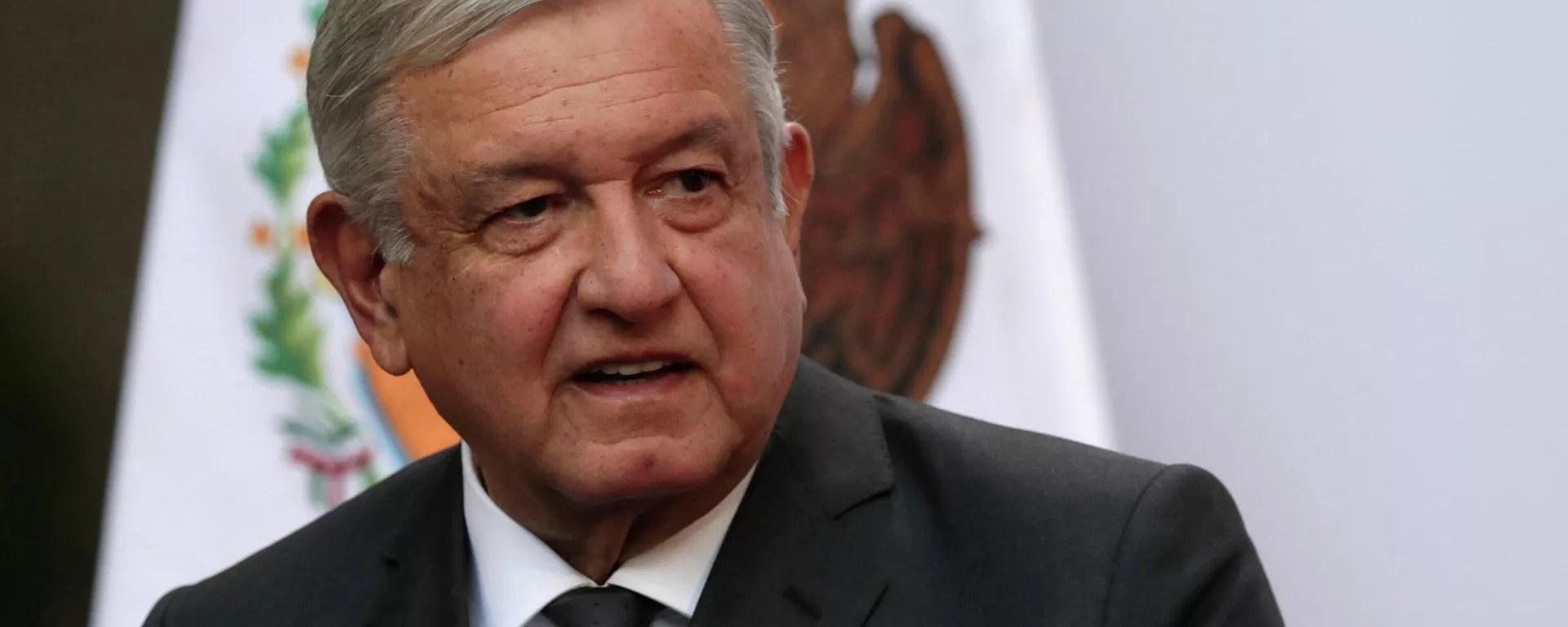 El presidente de México, Andrés Manuel López Obrador - Sputnik Mundo, 1920, 06.09.2021