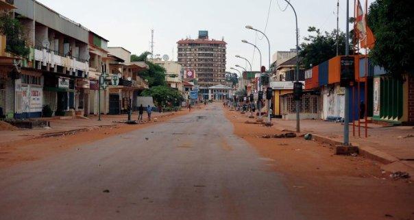 Bangui, la capital de la República Centroafricana