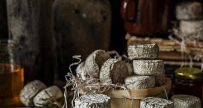 Los quesos de la empresa Grand Laitier