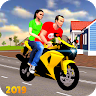Offroad Bike Taxi Driver: Motorcycle Cab Rider Application icon