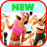 Lose weight dancing and jumping icon