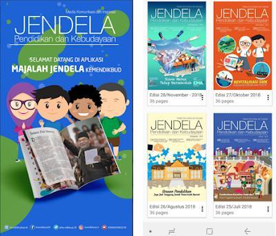 Majalah Jendela preview screenshot