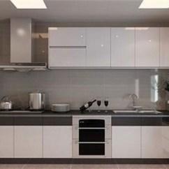 White Kitchen Cabinets Lowes Napkins 厨房白色瓷砖配什么颜色橱柜 厨房橱柜颜色怎么搭配 手机房天下知识
