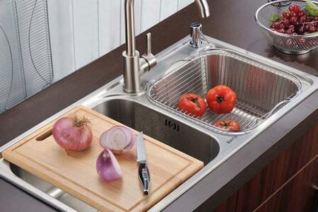 standard size kitchen sink the honest cat food 厨房水槽标准尺寸是多少 厨房水槽有哪些材质 手机房天下知识