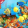 Real Aquarium World Fish Tank Underwater Fish Game game apk icon