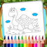 Animal Coloring Book - Color By Animal game apk icon