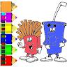 download coloring kawaii rainbow food apk