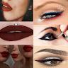 Red Lipstick & Eyeliner Ideas app apk icon