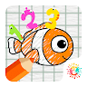 Math Journey by Drawing Animals and Spaceships game apk icon