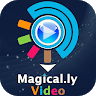 Magically Lyrical Video Status Maker app apk icon