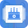 Birthday Video Maker with Song app apk icon