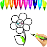 Drawing and Coloring book - Draw and color app apk icon