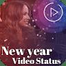 Happy New Year Wishes video status 2020 app apk icon