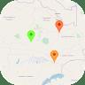 Zambia Offline Map app apk icon