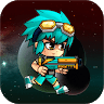 Metal Boy Shooter and Runner game apk icon