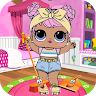 Princess Dolls Pink Cleaning game apk icon